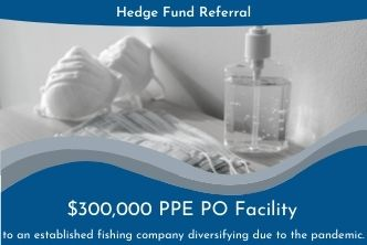 Gateway Trade Funding Provides a Purchase Order Facility to a Company Looking to Diversify into PPE.